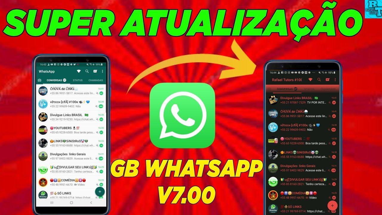 Gb whatsapp transparente atualizado 2020