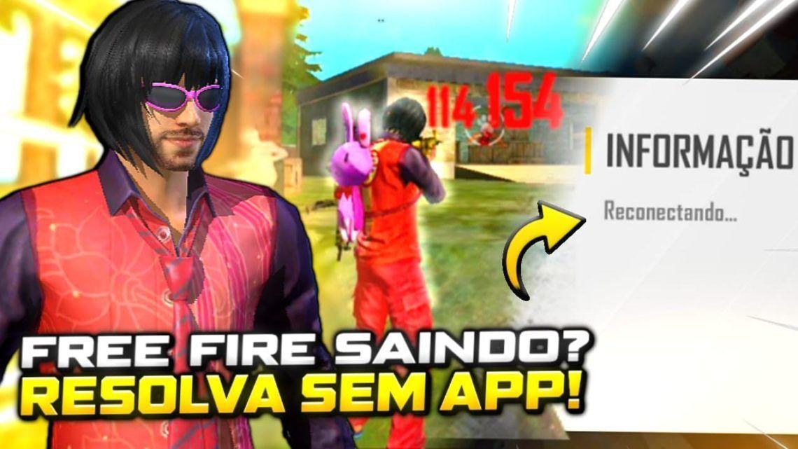 VAZOU! FREE FIRE RODANDO LISO! NUNCA MAIS VAI TRAVAR ! !