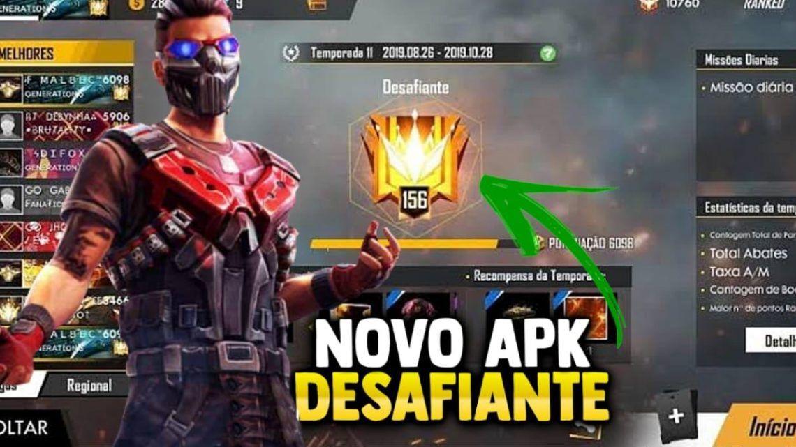 APK DESAFIANTE PARA O FREE  FIRE