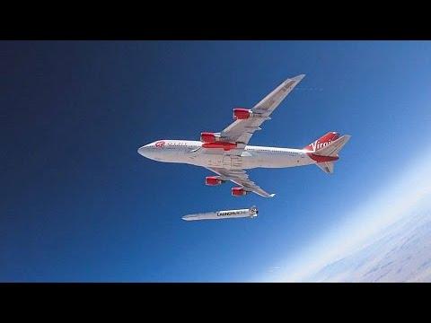 Virgin Orbit realiza primeiro lançamento comercial de satélites